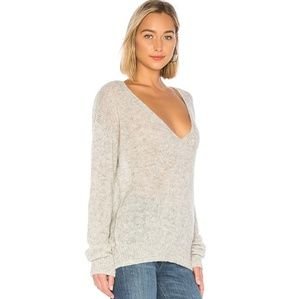 Free People Gossamar V Neck Sweater Large